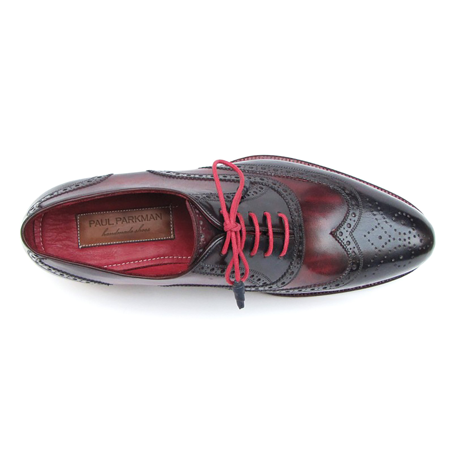 e560658919b6 Wingtip Brogue    Navy + Red (Euro  41) - Labor Day Special    Paul ...