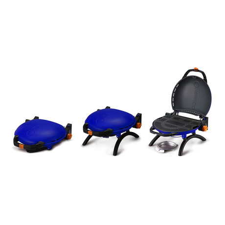 O-Grill Portable Grill + Dock Combo // Blue