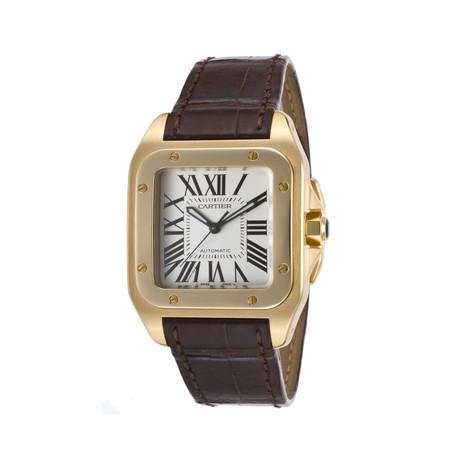 Cartier Santos 100 Automatic // W20112Y1 // Store Display