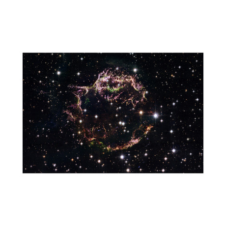 "Supernova Remnant Cassiopeia A (18""W x 12""H)"