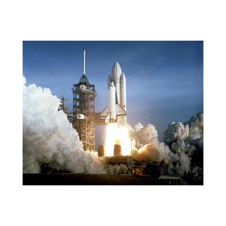 """First Launch of Space Shuttle Columbia, 1981 (12""""W x 16""""H)"""