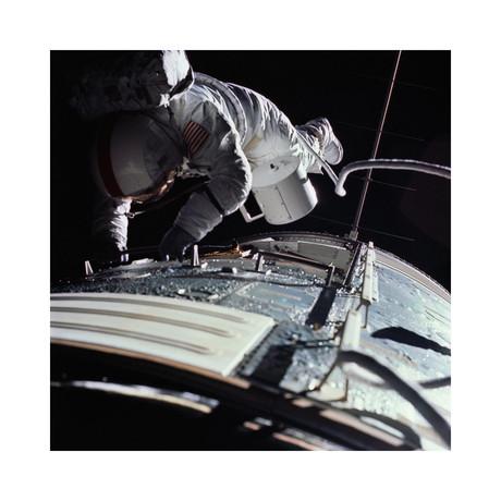 "Extra Vehicular Activity, Apollo 17, 1972 (12""W x 12""H)"
