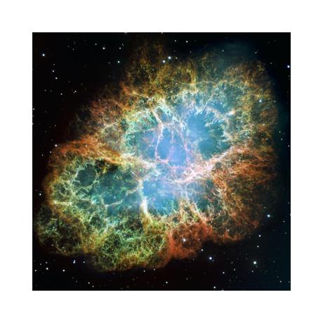 """Crab Nebula Mosaic (12""""W x 12""""H)"""