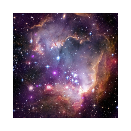 """Under the Wing of the Small Magellanic Cloud (12""""W x 12""""H)"""