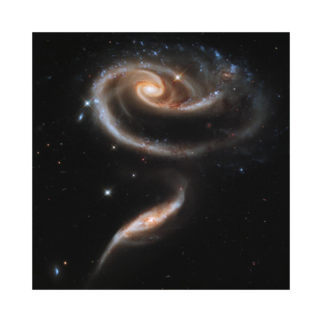 "Interacting Galaxies (12""W x 12""H)"
