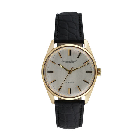 IWC Yellow Gold Automatische // 802-L103452 // c.1960's // Pre-Owned