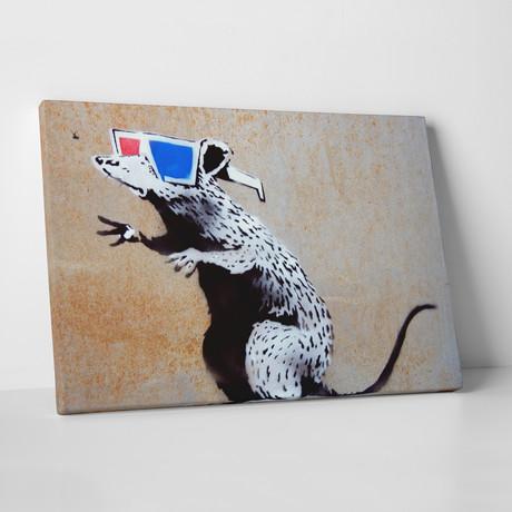 """3D Rat (20""""W x 16""""H)"""