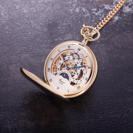 Rapport London Double Hunter Pocket Watch Manual Wind // PW40