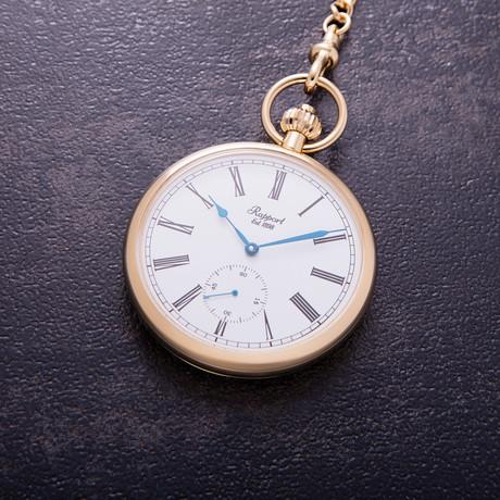 Rapport London Open Face Mechanical Pocket Watch Manual Wind // PW94
