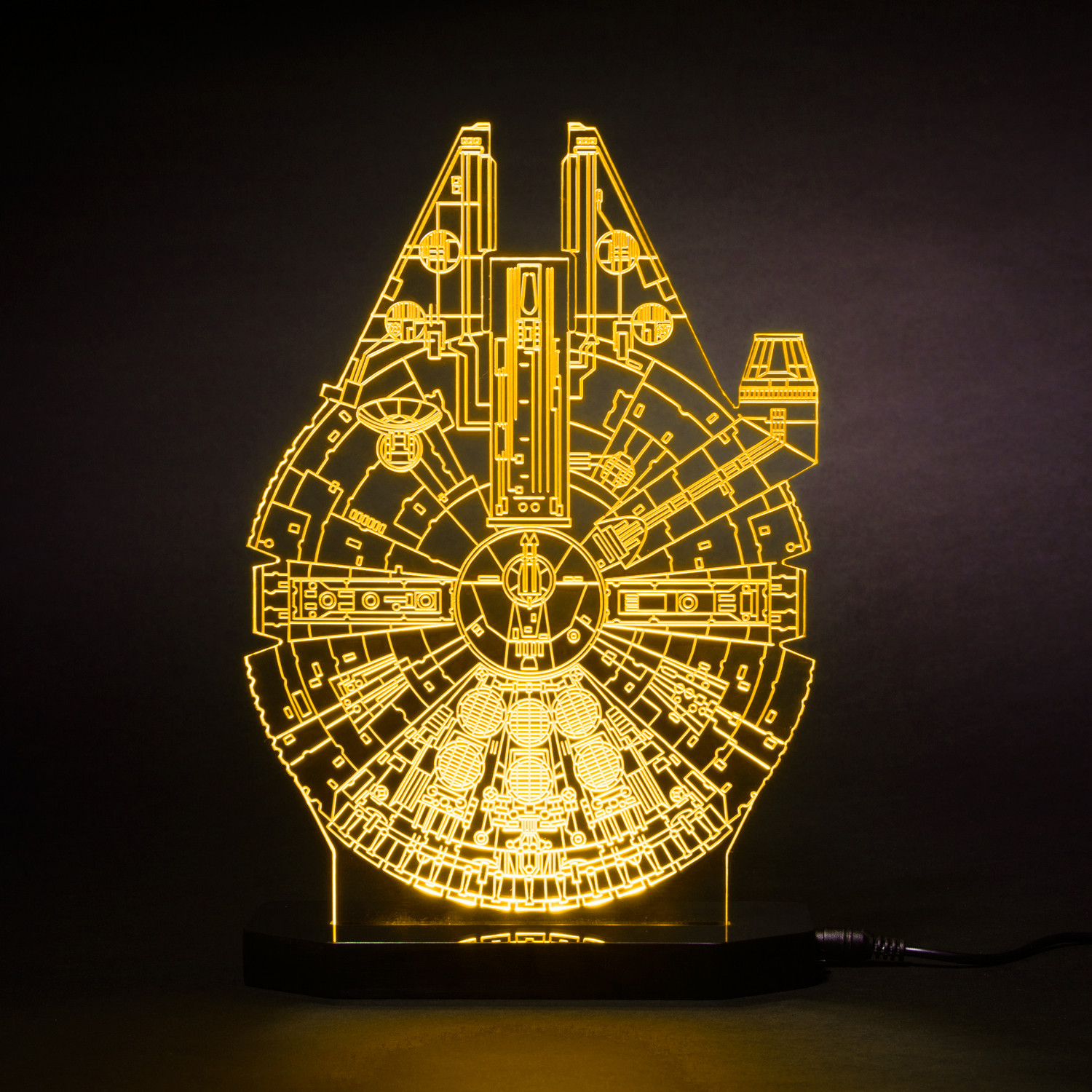 Millennium Falcon Star Wars Led Lamps Touch Of Modern