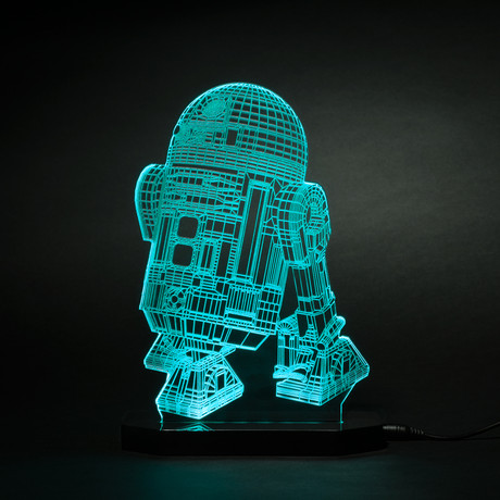 Star Wars Led Lamps 3d Illusions Touch Of Modern