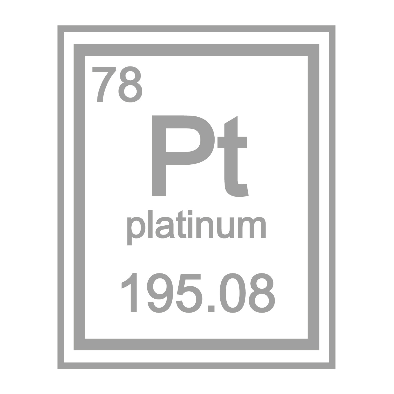 image free chemical vector royalty element platinum