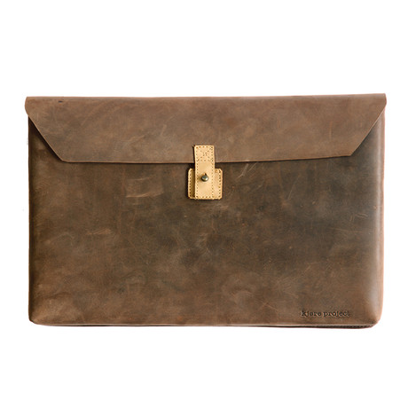 Laptop Envelope Series // Russet Brown!