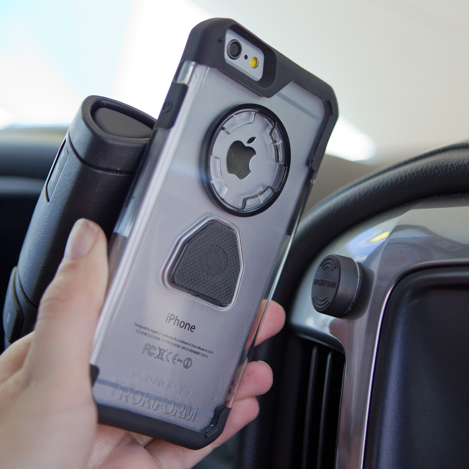 iphone car holder magnetic car mount clear iphone 6 6s 2588