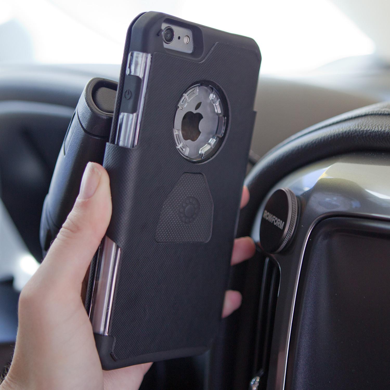 49f18ecaa6ac Folio Wallet Case + Magnetic Car Mount // Black (iPhone 6/6s ...