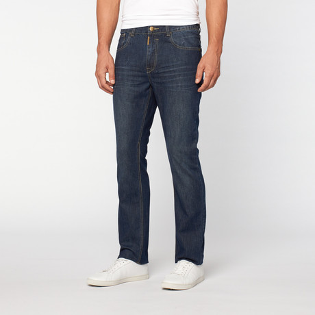 Lee Cooper // Owen Slim Fit Dag-tot-Night Dark Wash // Langford