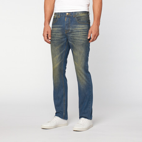 Lee Cooper // Owen Slim Fit Getinte Vintage Wash // James