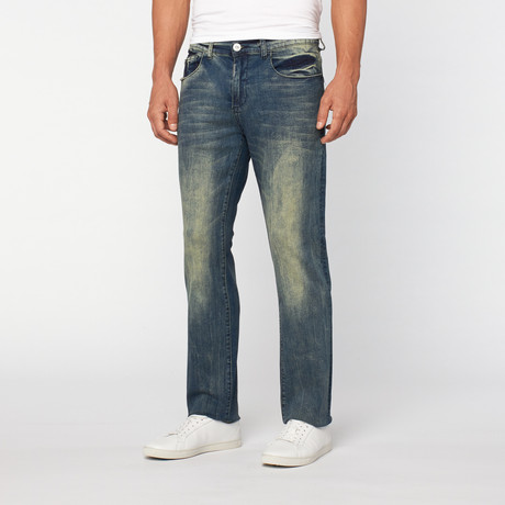 Lee Cooper // Clive Straight Leg Slub Denim // Leigh
