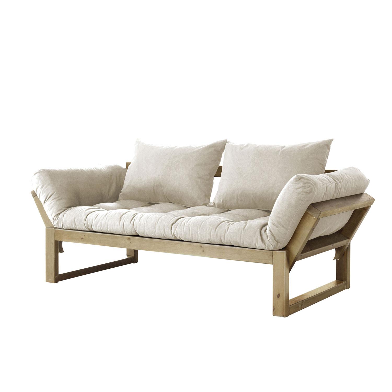 edge  natural frame (natural cushion)  fresh futon  touch of  - edge  natural frame (natural cushion)