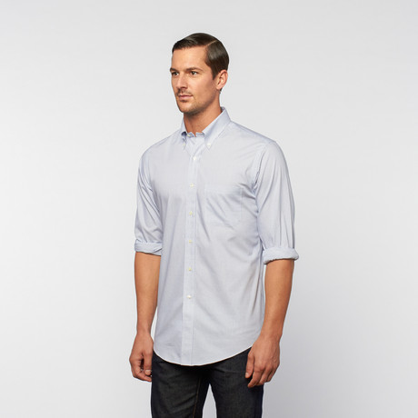 Oxford Pinpoint Button-Down // Blue Check (US: 18R)