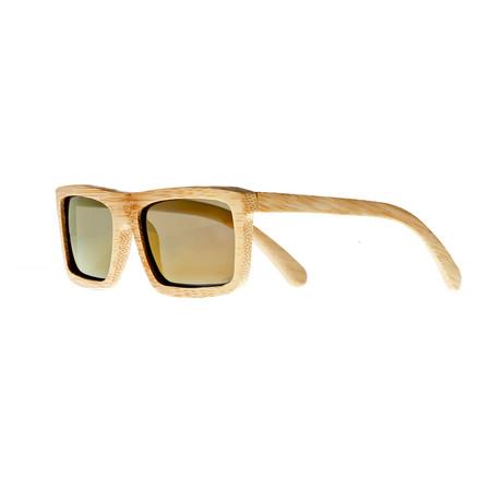 Hamoa (Bamboo Frame // Gold Lens)