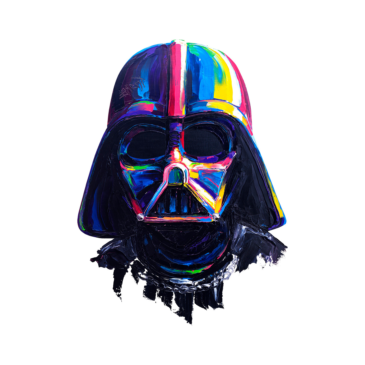 Vader By Brent Star Wars Print 20 X 20 Brent