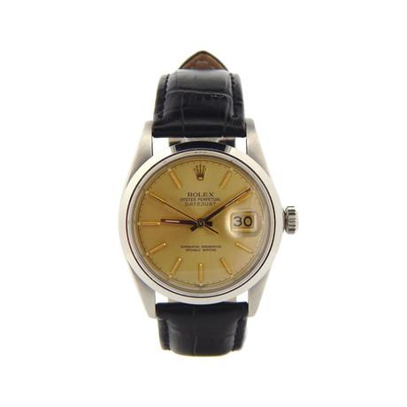 Datejust Automatic 16030 // // // 6552698NBLK c.1980's