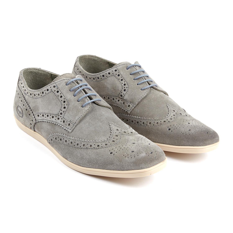 Shore Suede Dress Shoe // Grey (Euro