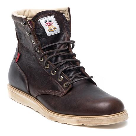 Leather Hi Boot // Oak Potomac
