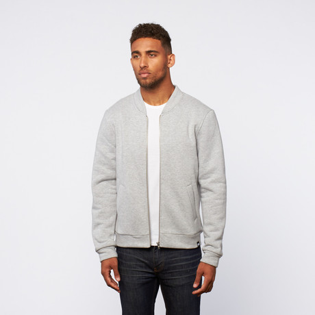 Zip-Up sweater // Grey