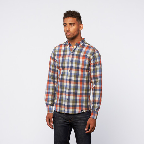 button-down // Multicolor Check