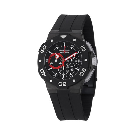 Momo Design Tempest Chronograph Quartz // MD1004BK-01BKRD-RB