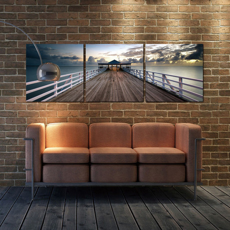 "Australian Pier (24""H x 72""W x 1""D)"