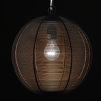 round hanging lamp artemano touch of modern. Black Bedroom Furniture Sets. Home Design Ideas