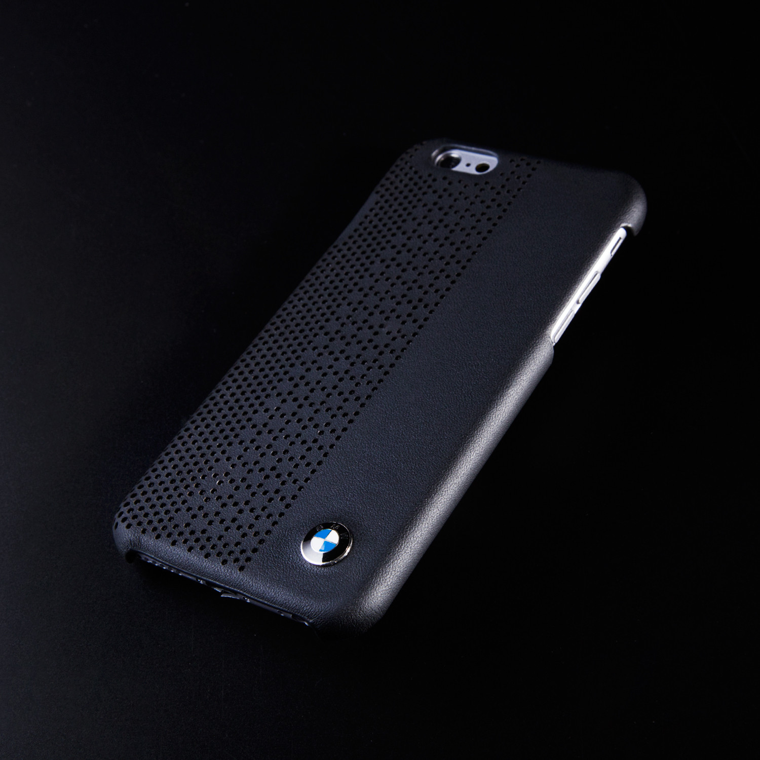best service 8cc96 80d15 Masters Club // BMW Perforated Leather Hard Case // Black (iPhone 6 ...