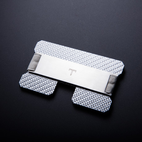 Tribe Wallet // Texalium Wallet (Silver Bar + Silver Band)