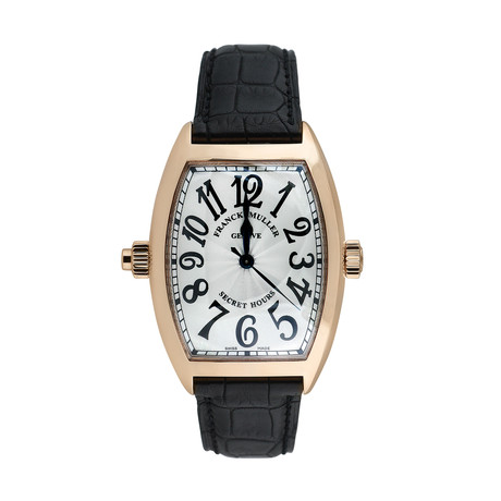 Franck Muller Secret Hours Automatische // 809-L100242 // c.2000's // Pre-Owned