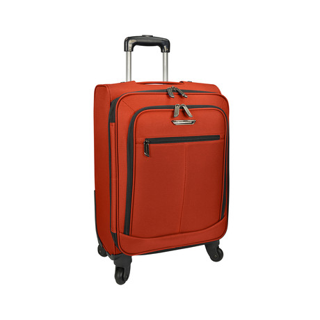 "Merced Lightweight Spinner Luggage // Orange (22"")"