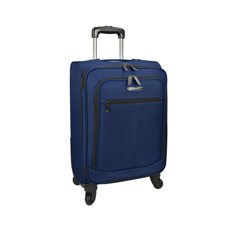 "Merced Lightweight Spinner Luggage // Navy (22"")"