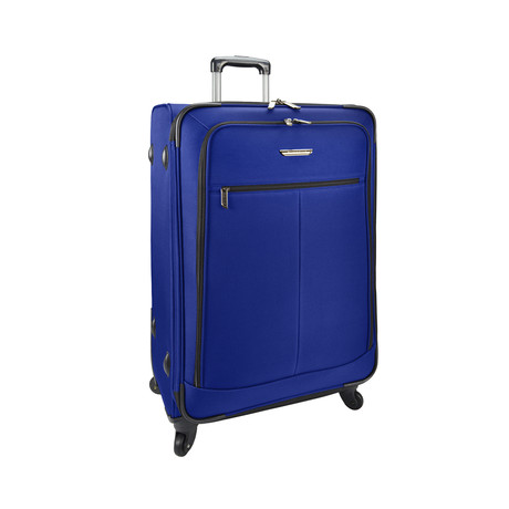 Merced Lightweight Spinner Luggage // Cobalt Blue