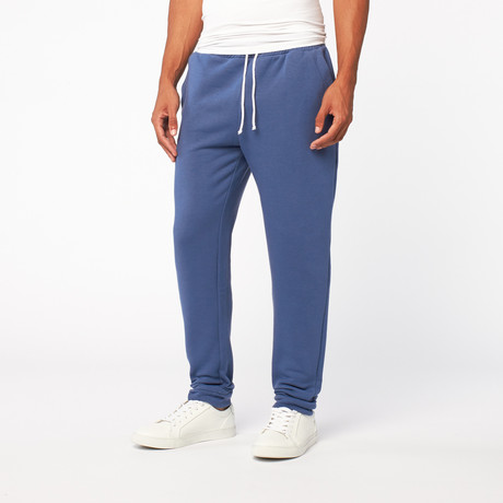 Fleece Sweatpant // Blue