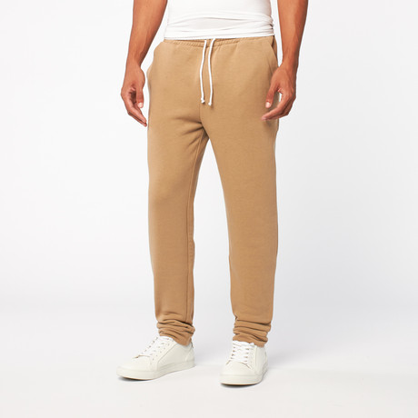 Fleece Sweatpant // Beige