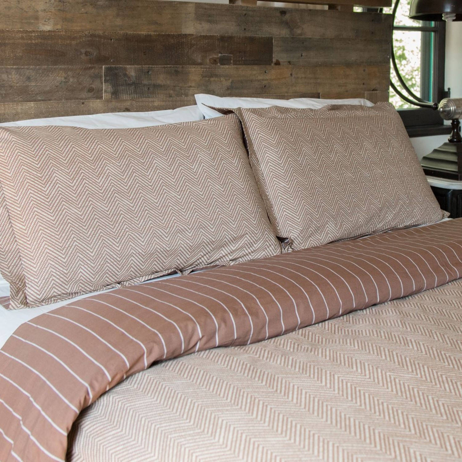Fall Herringbone Comforter Set (Twin/Twin Extra Long) Pictures Gallery