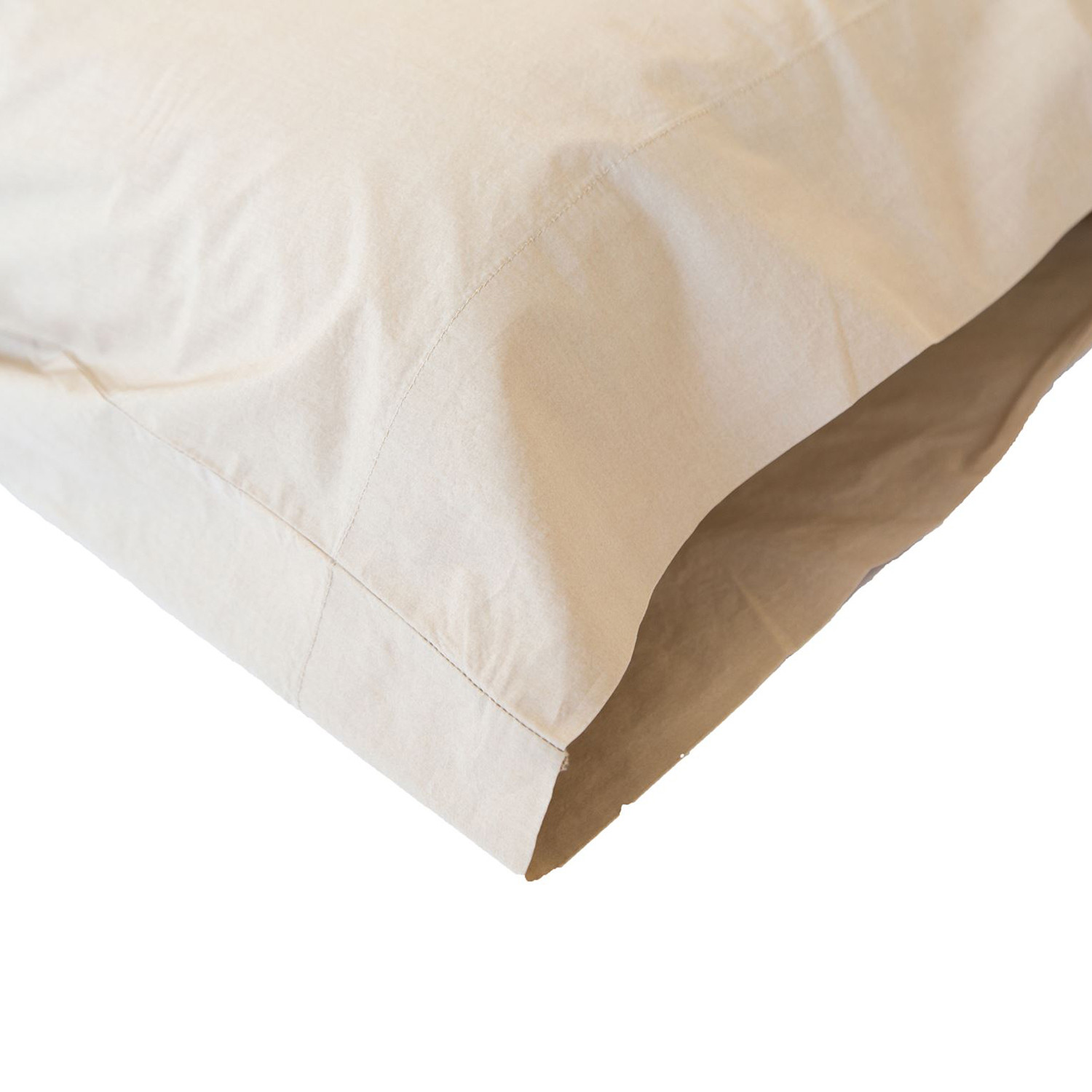 washed solid percale cotton sheet set tan twin extra. Black Bedroom Furniture Sets. Home Design Ideas