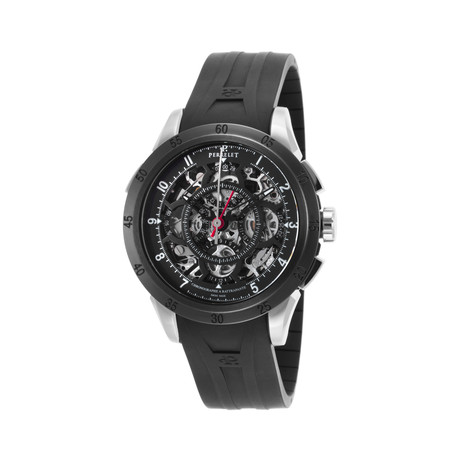 Perrelet Split Second Skeleton Chronograph Automatic // A1043-2 // New