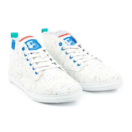 Leon Sneaker // White + Multi (US: 7)