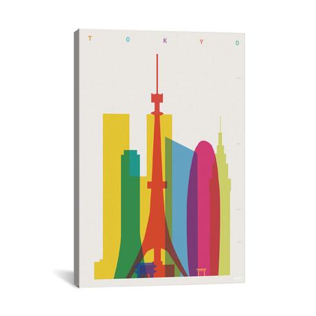 """Tokyo // Yoni Alter (26""""W x 40""""H x 1.5""""D)"""