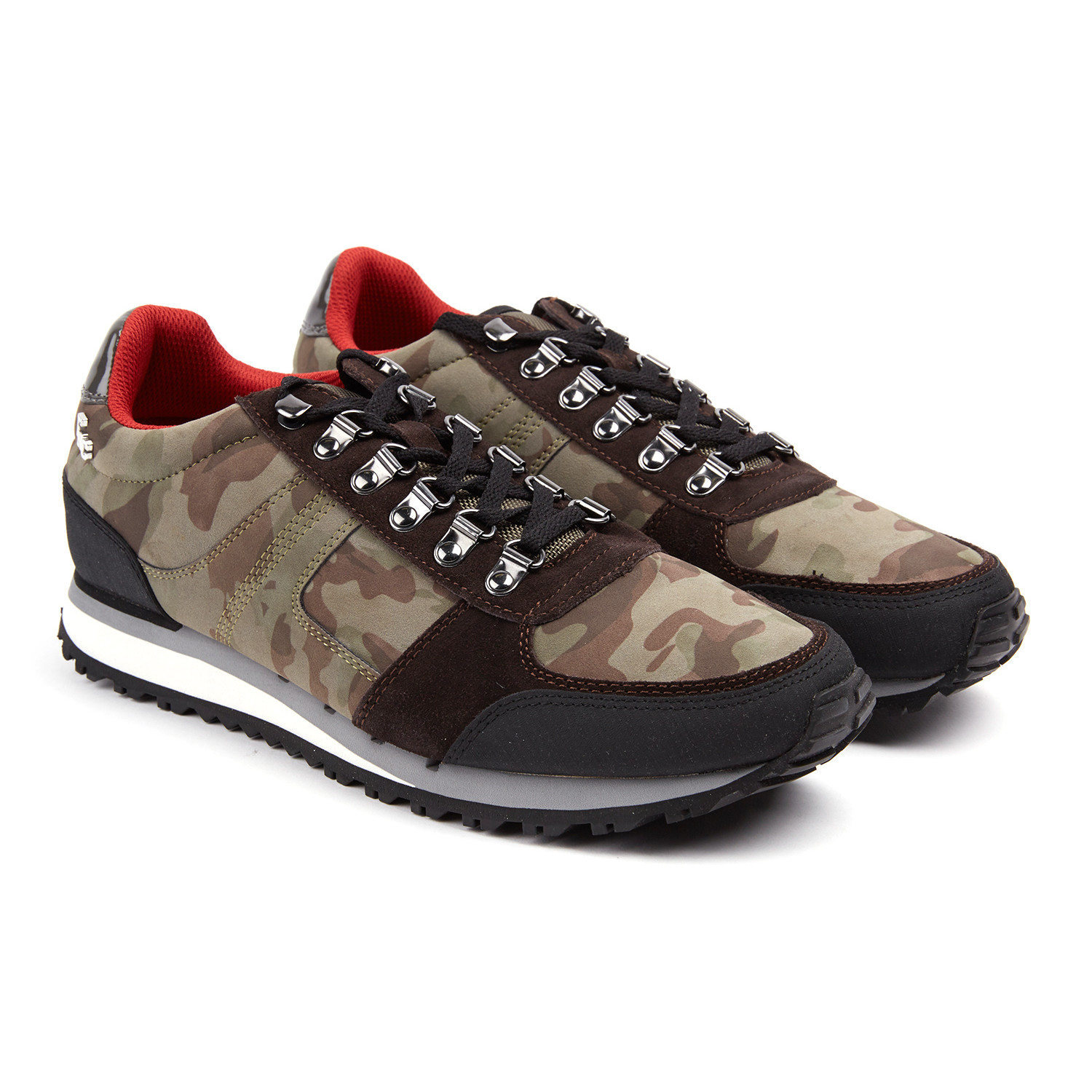 Panini sneaker olive brown euro 40 fish 39 n for Fish and chips shoes