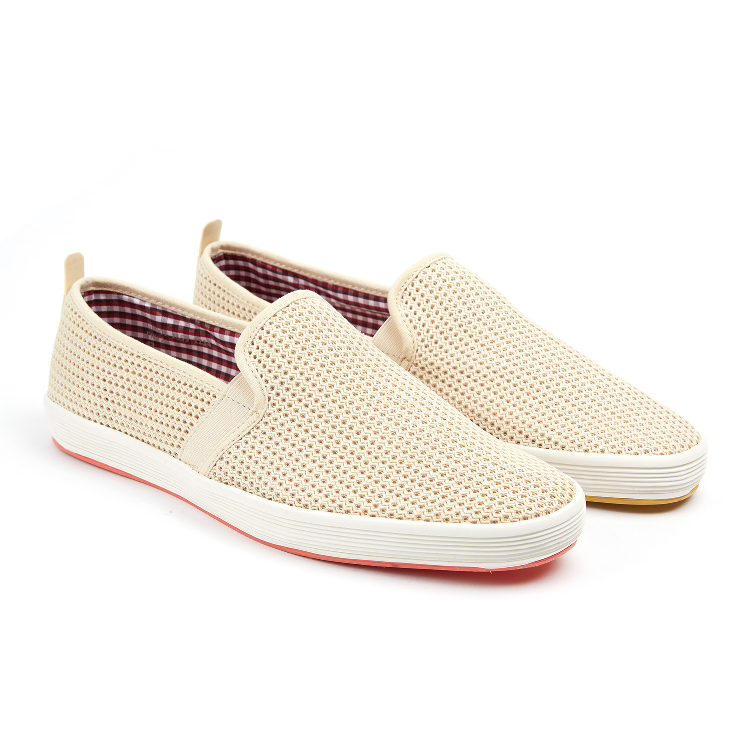 Fry 2 slip on natural euro 40 fish 39 n 39 chips for Fish n chips shoes