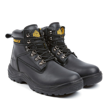 lace up work boot black us 7 bonanza boots touch